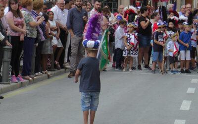Sigue la celebración del medio año festero en Sax con actos para los festeros mas pequeños