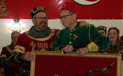 Concierto de música festera en Sax para conmemorar el centenario de la comparsa de Turcos  y el cincuenta aniversario de la comparsa Alagoneses